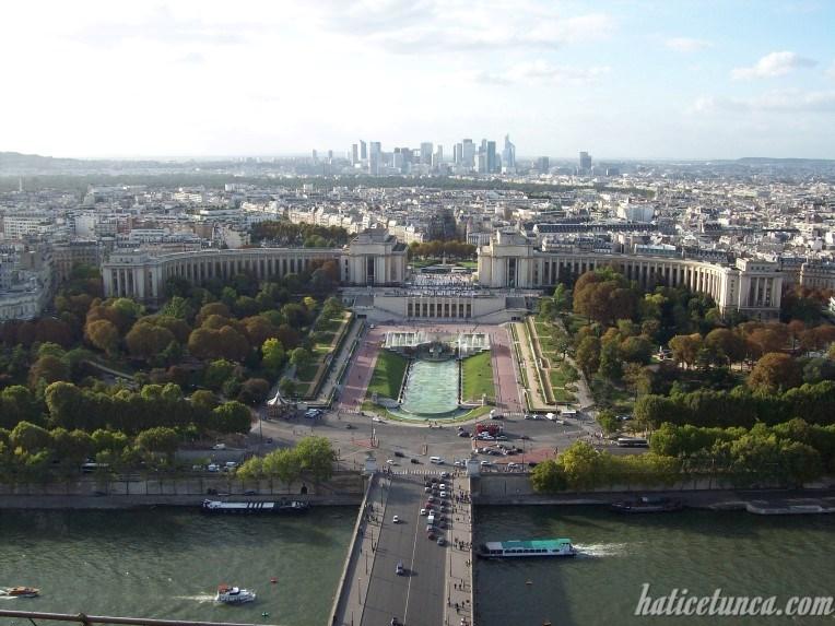 Eyfel Kulesi'nden La Défense