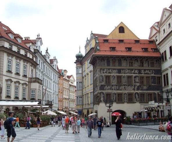 Franz Kafka'nın doğduğu ev