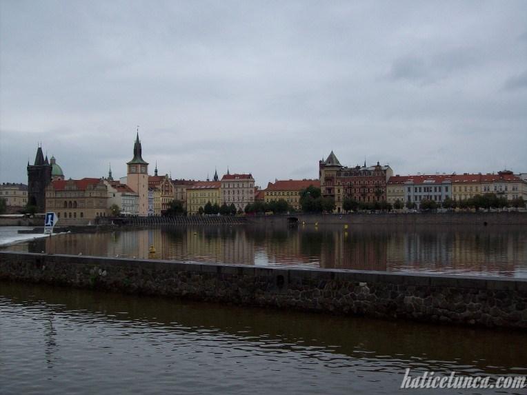 Prag manzarası