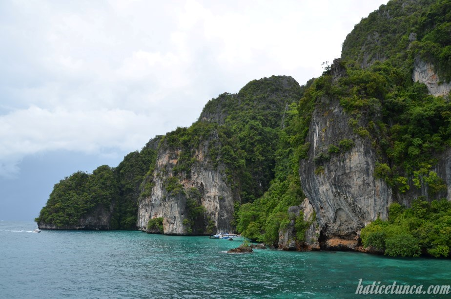 Phi Phi Adaları'na giderken