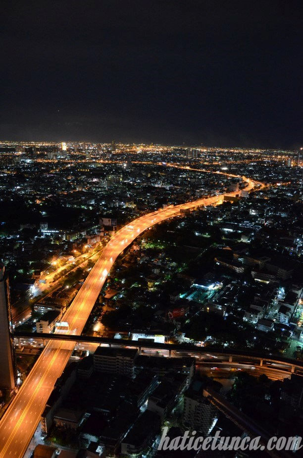 Lebua State Tower'dan Bangkok