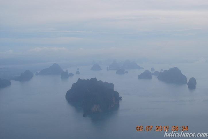 Phuket uçaktan görünüm