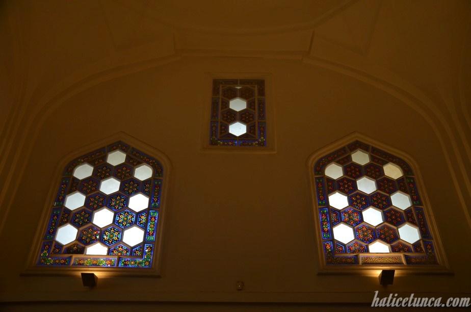 Çinili Köşk Müzesi pencereleri