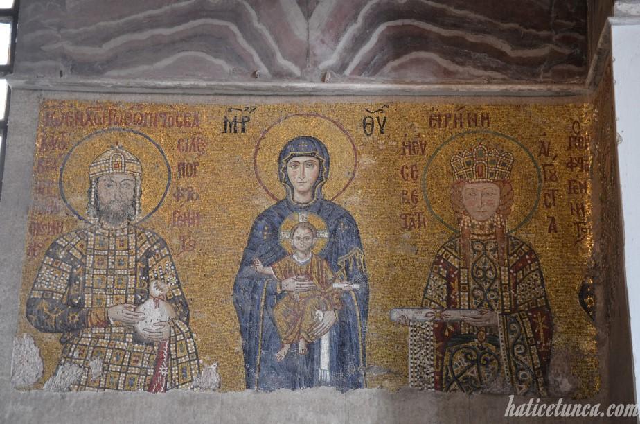 II. Yannis Komnenos, Meryem, İsa, İrena