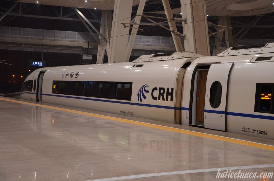 Shanghai-Beijing High-speed Train