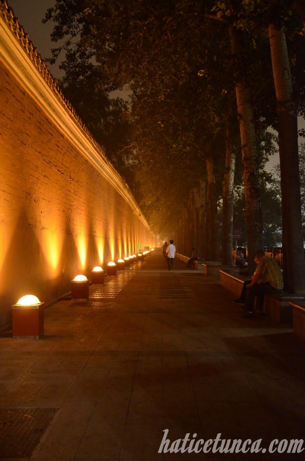 Wall of Forbidden City