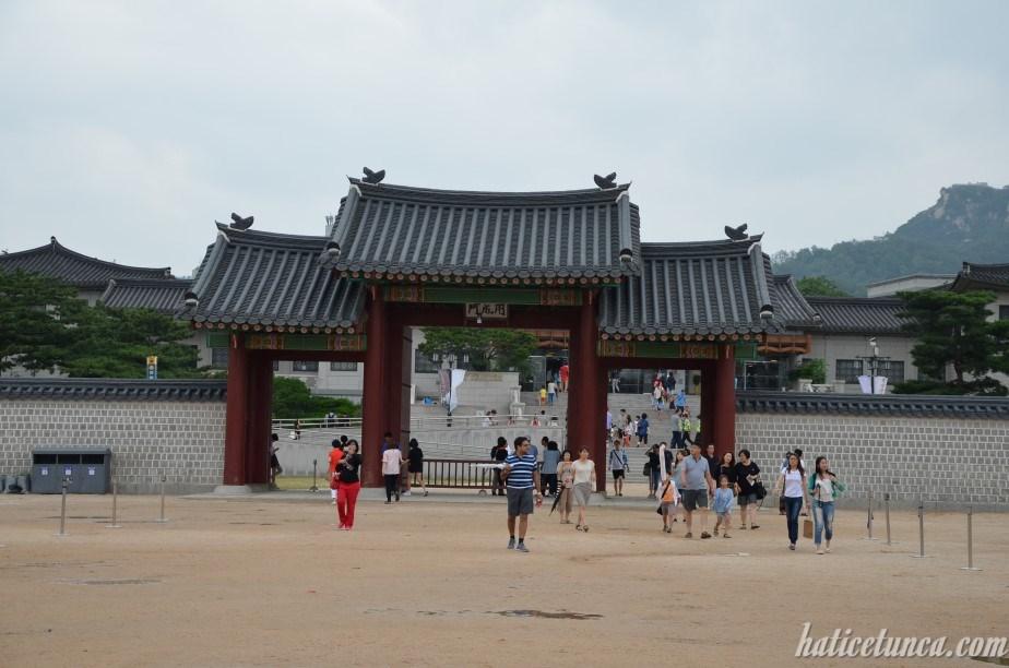 Entrance to Yuhwamun