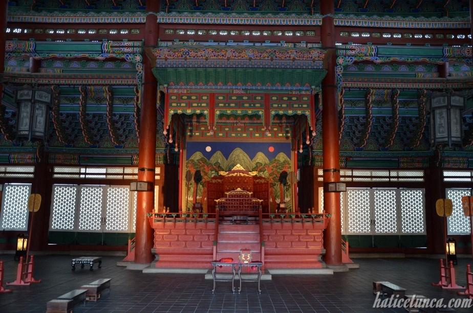 Sajeongjeon - Inside