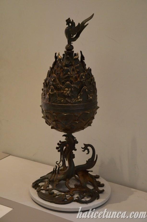 Baekje Gilt Bronze Incense Burner