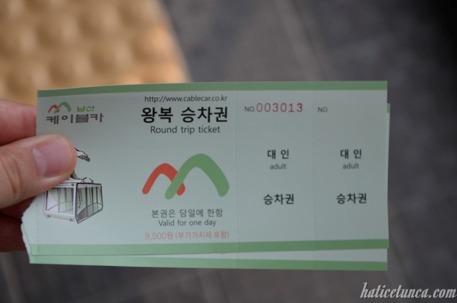Cableway tickets