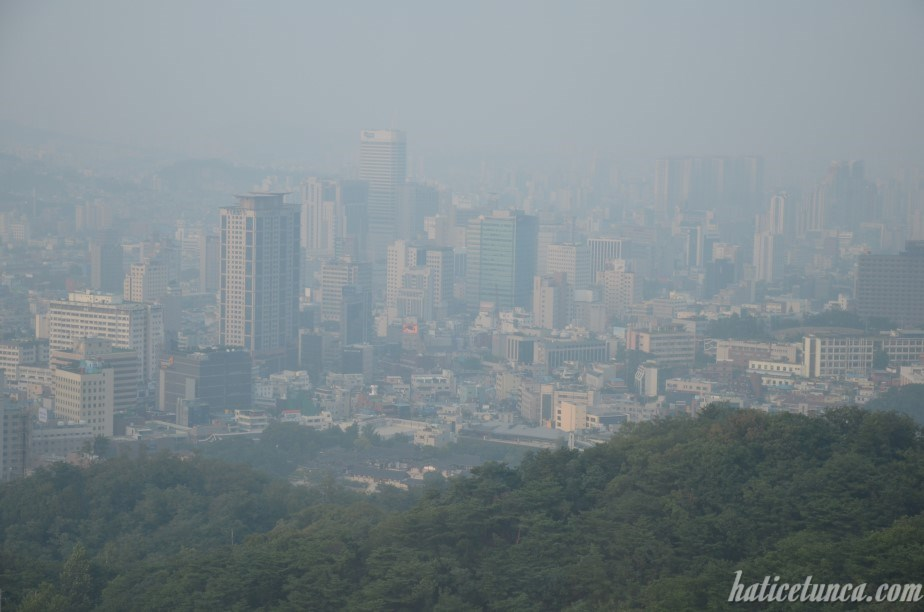 View from N Seoul Tower