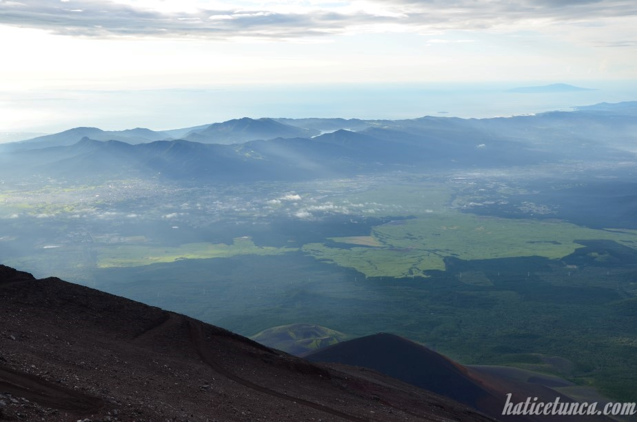 View from Mount Fuji