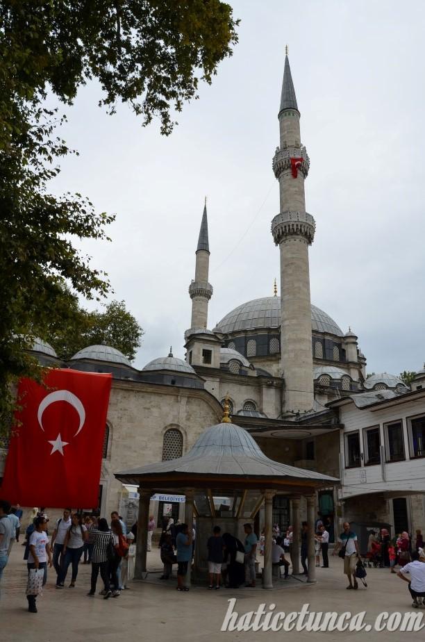 Eyüp Sultan Camii Avlusu