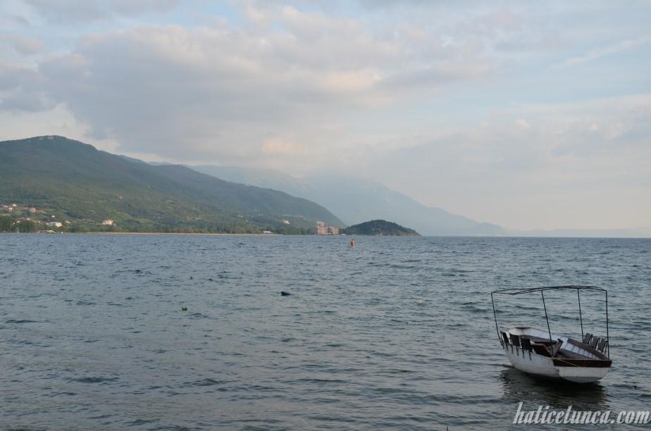 Ohrid sahil