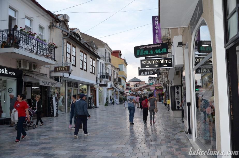 Ohrid Çarşısı