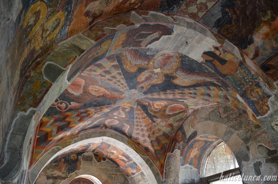 Ayasofya Müzesi freskleri