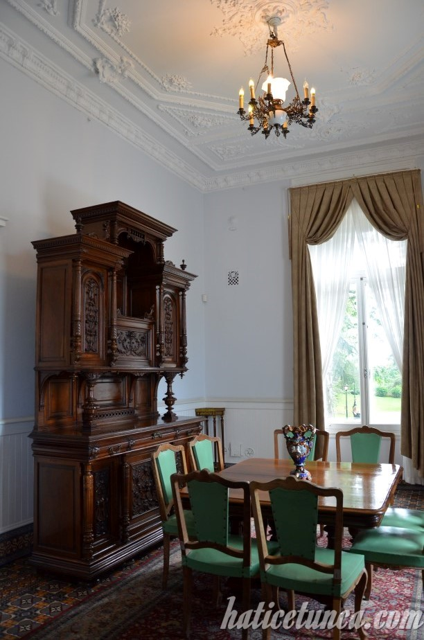 Atatürk Köşkü-Yemek odası