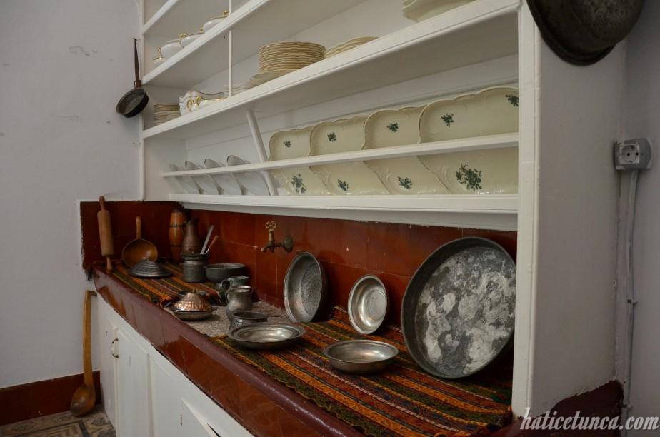 Atatürk Köşkü-Mutfak