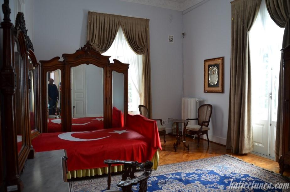 Atatürk Köşkü-Yatak odası