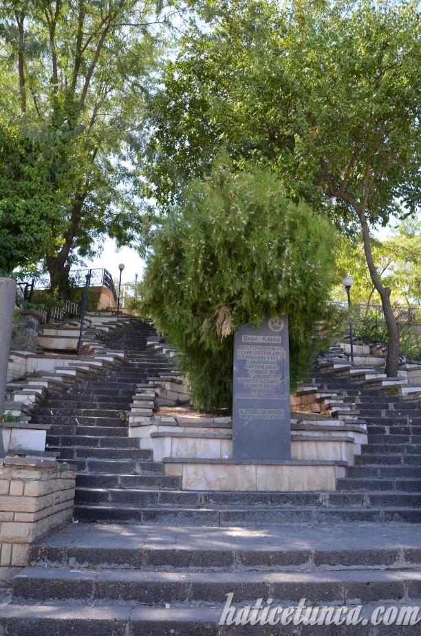 Gazi Köşkü Merdivenleri