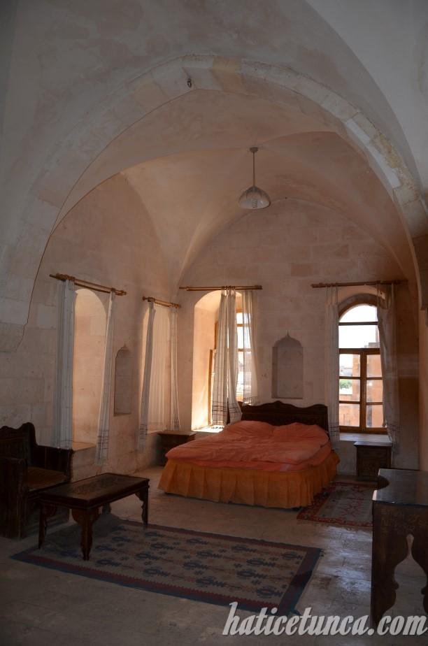Midyat Konuk Evi odalarından biri