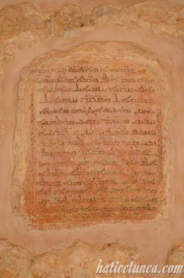 Mor Gabriel Manastırı kitabe