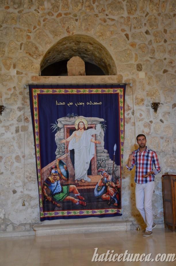 Mor Gabriel Manastırı-İsa tasviri