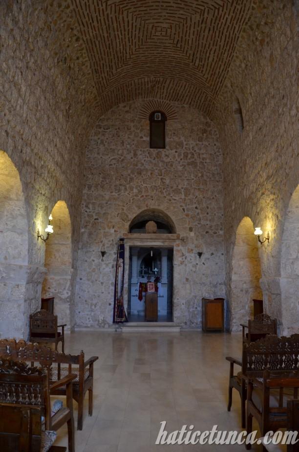 Mor Gabriel Manastırı-Meryemana Kilisesi